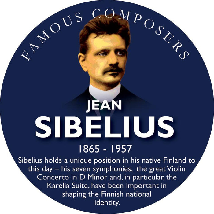 Musical Famous Faces Sibelius