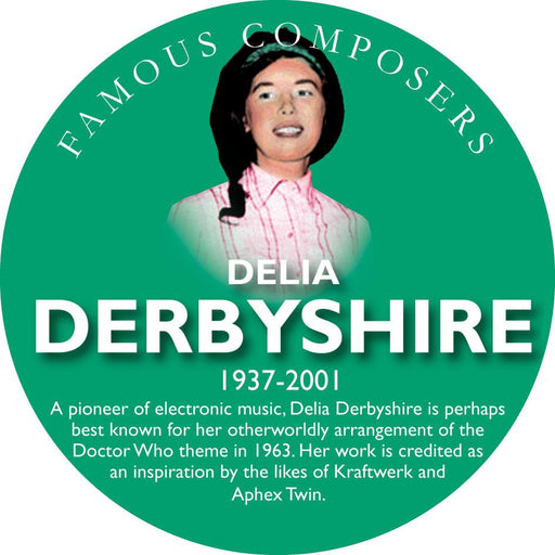 Musical Famous Faces Delia Derbyshire