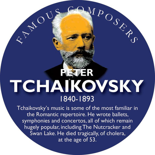 Musical Famous Faces Tchaikovsky