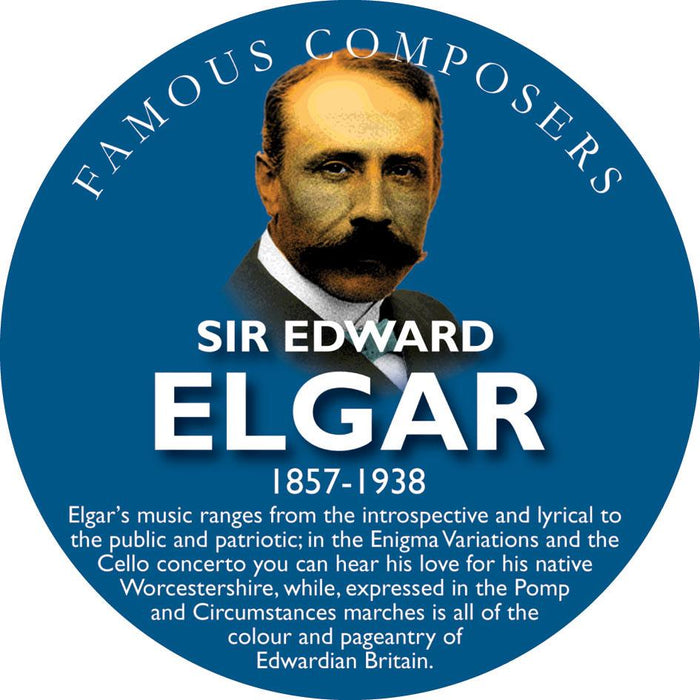 Musical Famous Faces Elgar