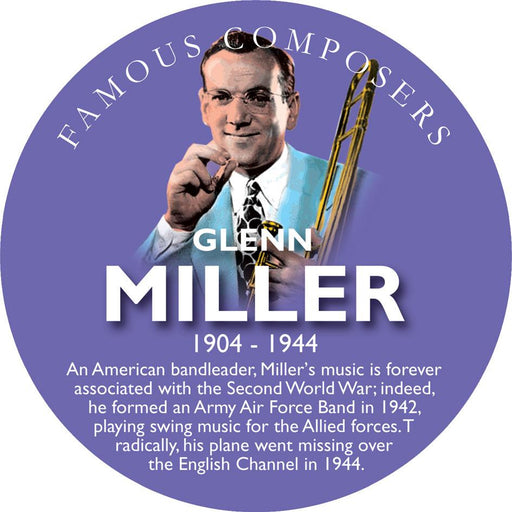 Musical Famous Faces Glenn Miller