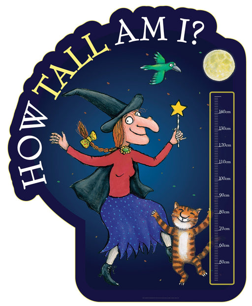 Room on the Broom Height Chart A (40-150cm ft. Dancing)
