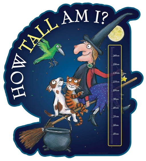 Room on the Broom Height Chart B (40-150cm ft. Broom)