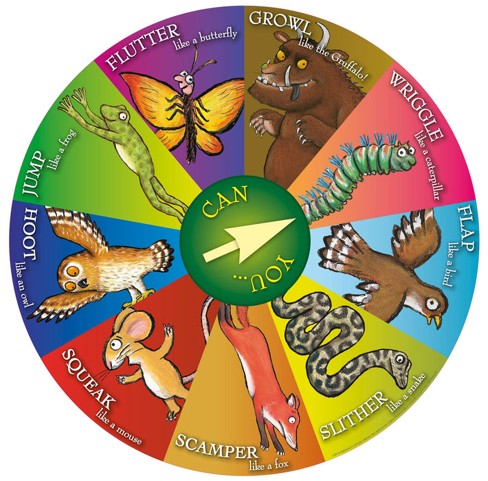 The Gruffalo Spin Wheel Actions