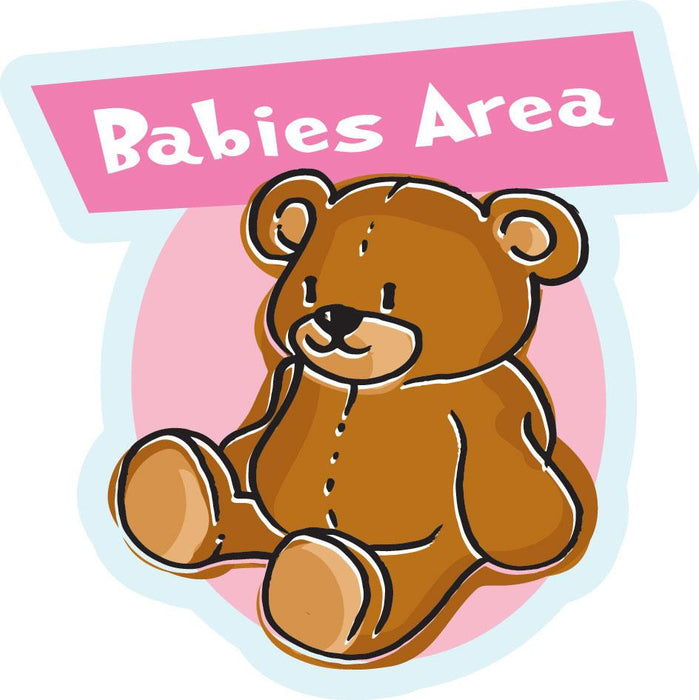Babies Area Sign