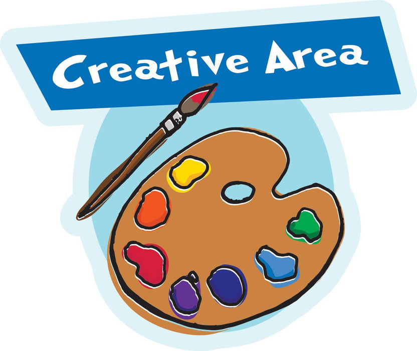 Creative Area Sign