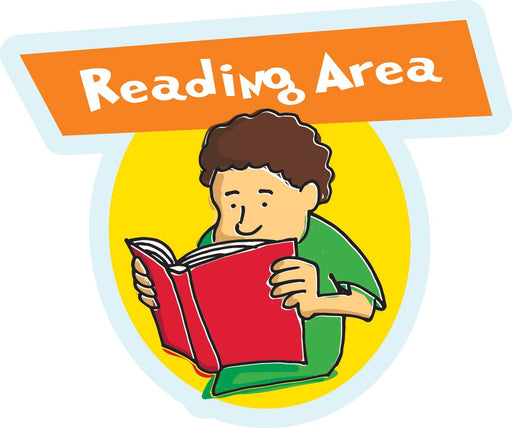 Reading Area Sign
