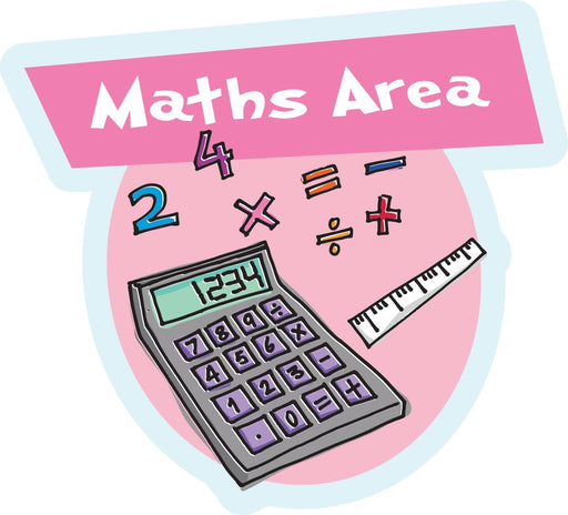 Maths Area Sign