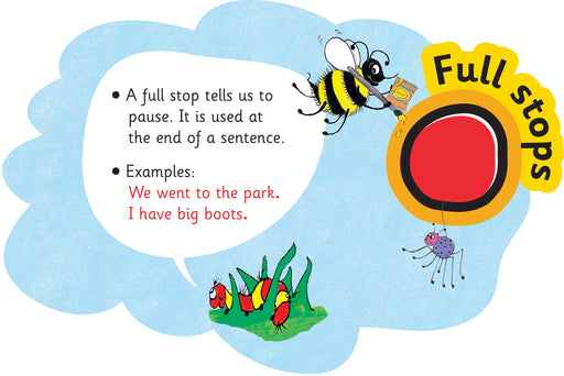 Jolly Phonics Punctuation Clouds Full Stops