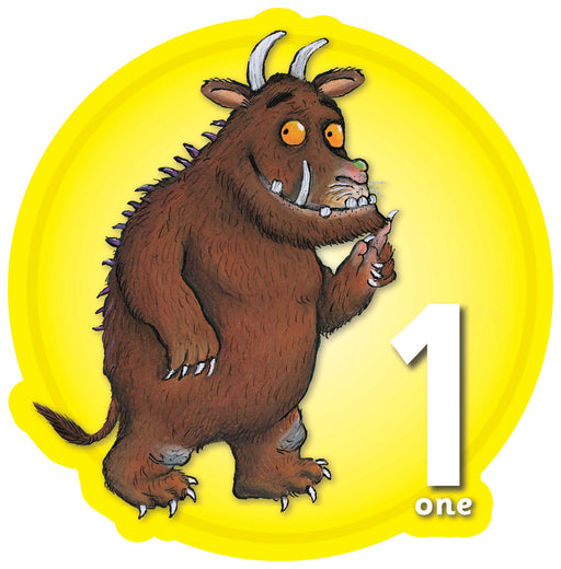 The Gruffalo Circular Number Signs 1-10