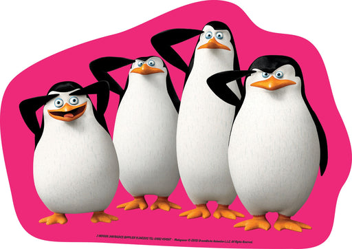 Madagascar Cut-out Penguins