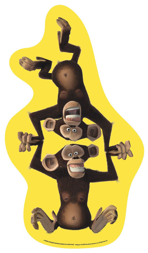 Madagascar Cut-out The Chimpanzees