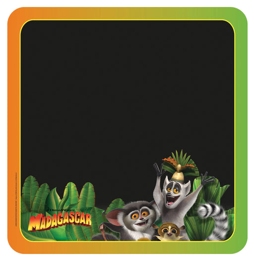 King Julien, Maurice and Mort Chalkboard