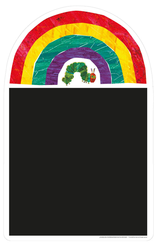 The Very Hungry Caterpillar Rainbow Chalkboard
