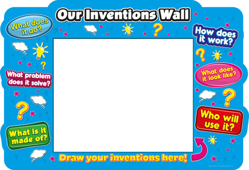 Our Inventions Wall Whiteboard