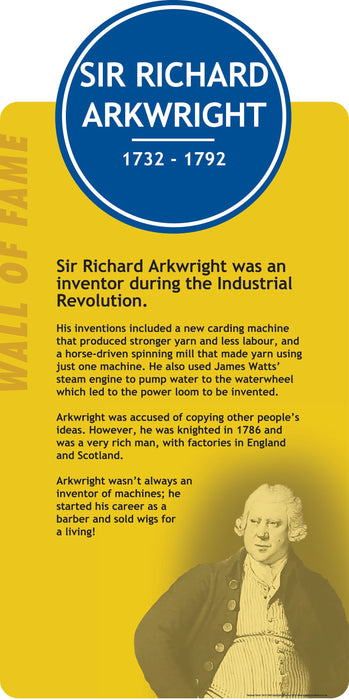 Richard Arkwright Sign