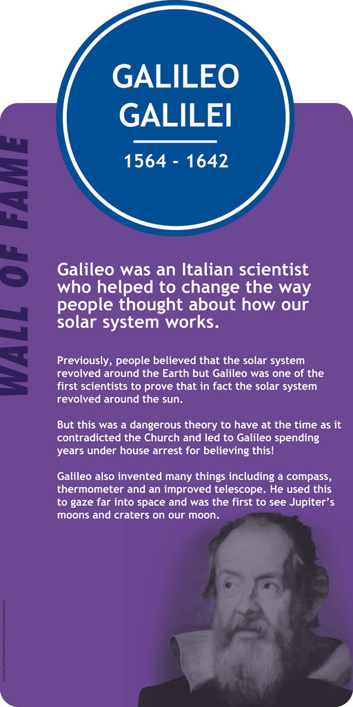 Galileo Galilei Sign