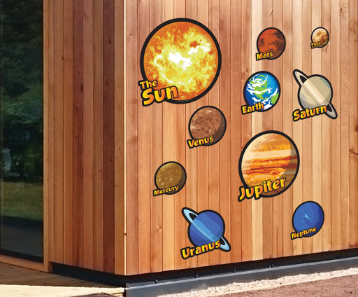 Set of 10 Solar System Signs