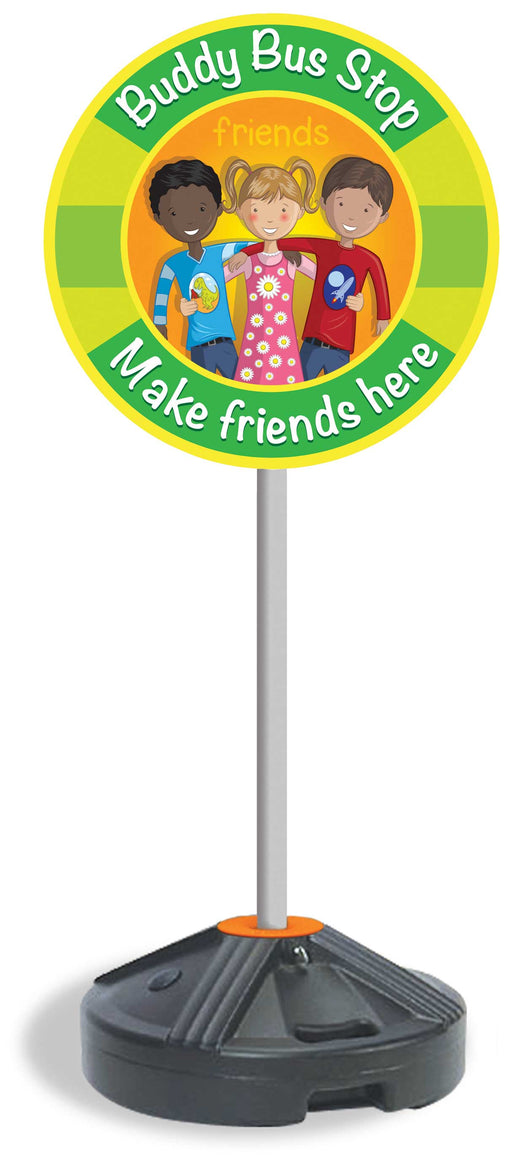 Make Friends Here Bus Stop