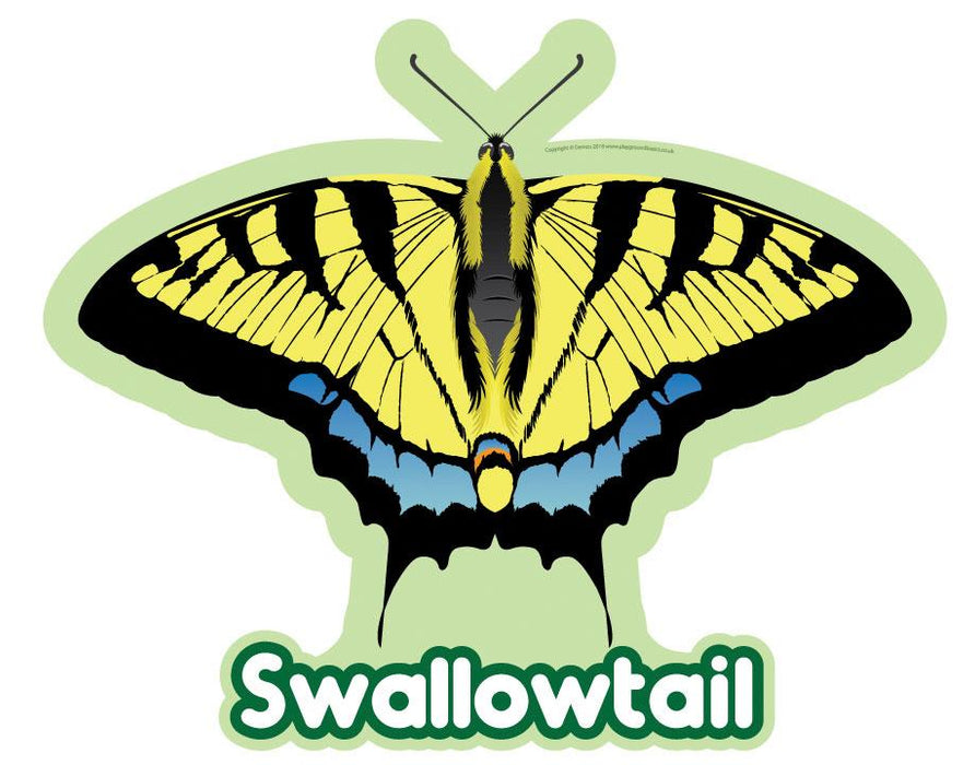 Swallow Tail Butterfly Sign