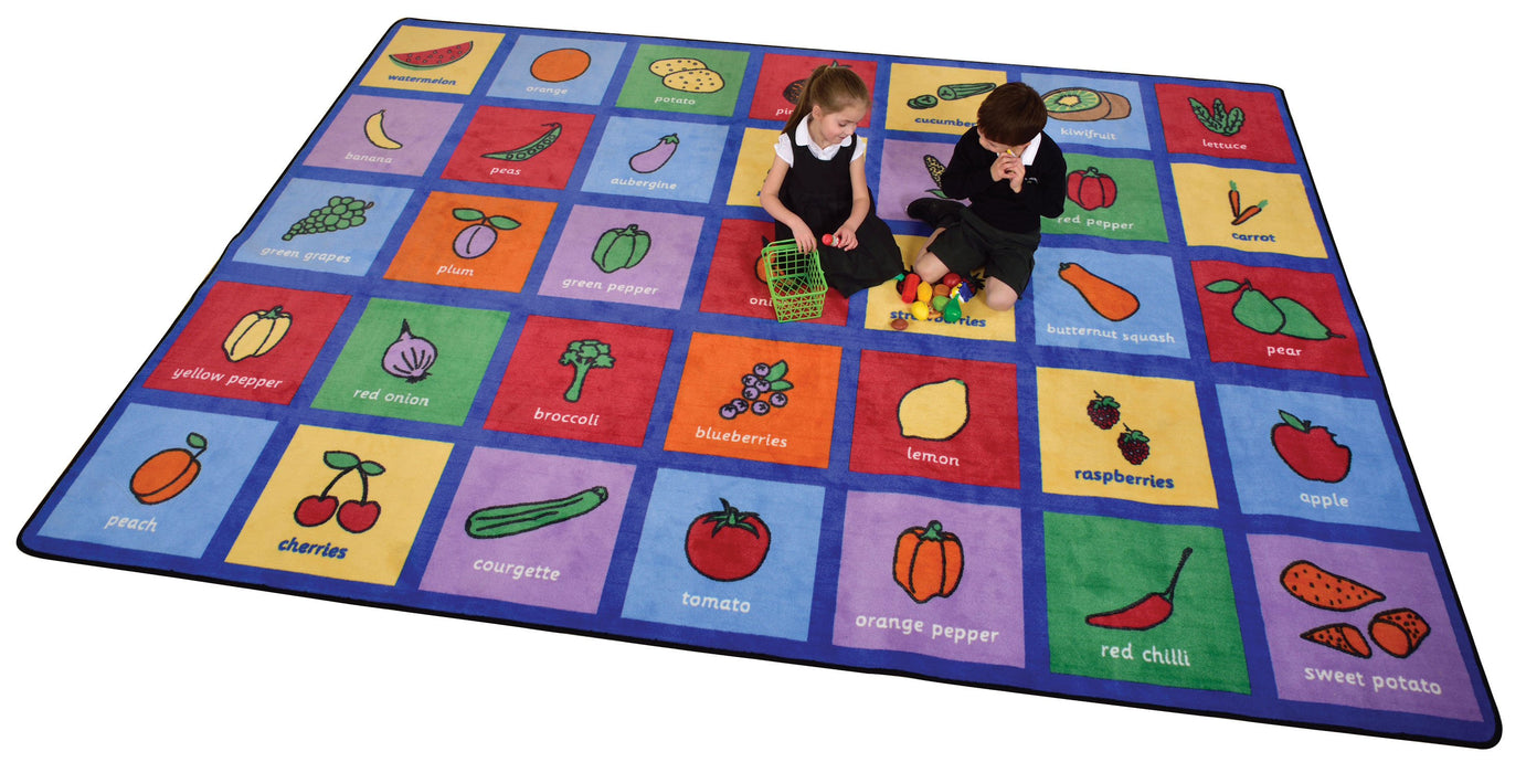 Healthy Eating Rug