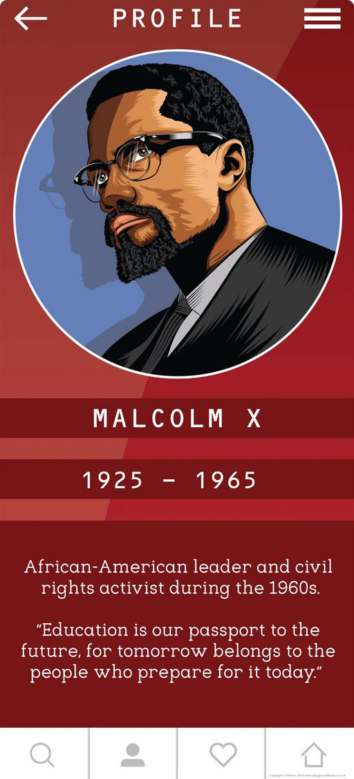Malcolm X Sign