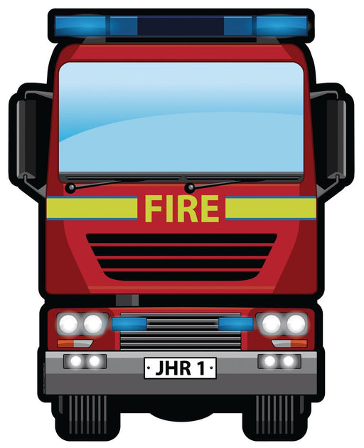 Fire Engine Mirror Sign