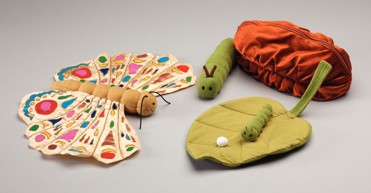 Lifecycle of a Caterpillar Doll