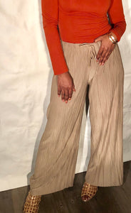 Queening Pants-Taupe