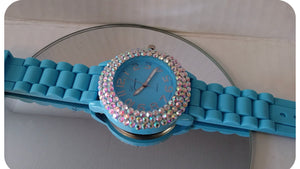 Fashion Queen Watch-Blue