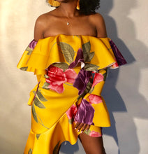 Load image into Gallery viewer, Island Ting Dress - Mustard