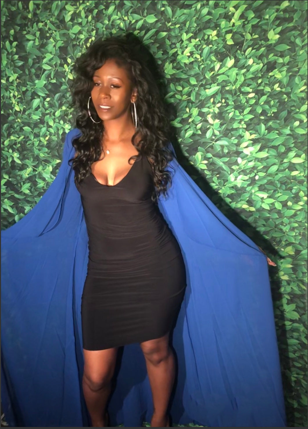 Barbie Duster- Blue