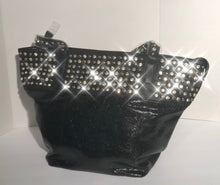 Load image into Gallery viewer, Big Bling Bag -Black