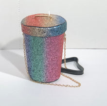 Load image into Gallery viewer, Rainbow Glitter Burst IV Bag