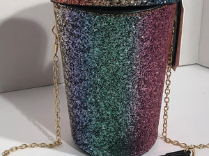 Rainbow Glitter Burst IV Bag