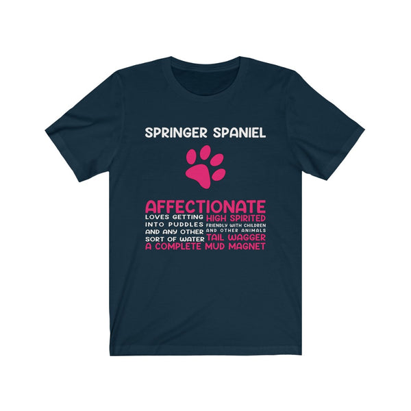 Springer Spaniel Short Sleeve Tee