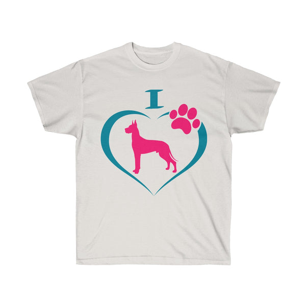 I Love Great Danes Ultra Cotton T-Shirt