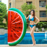 Giant Watermelon Inflatable Float