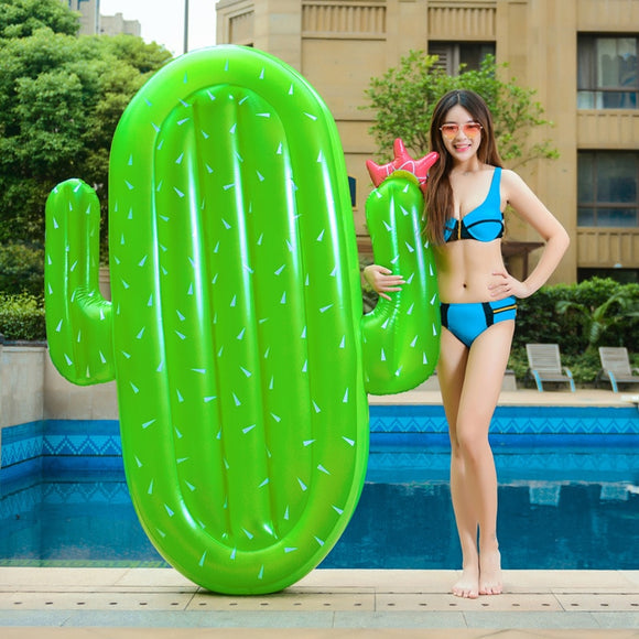 Giant Cactus Inflatable Floatie
