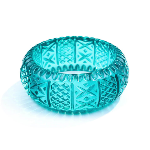Frosted Bangle Turquoise