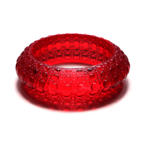 Bubble Bangle Burgundy