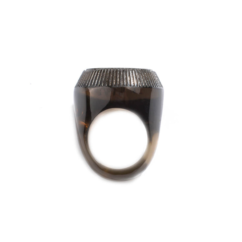 Bottlestop Ring Dark Grey