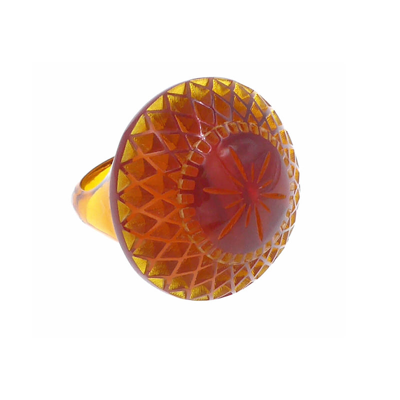 douglaspoon hand carved resin ring