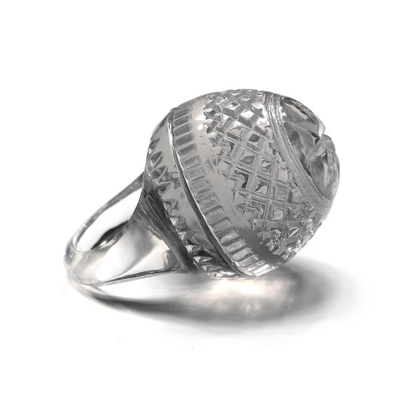 Etched Dome Ring