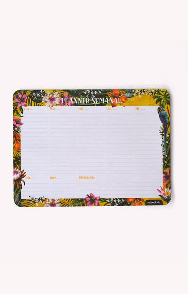 Planner Mousepad Semana Tropical