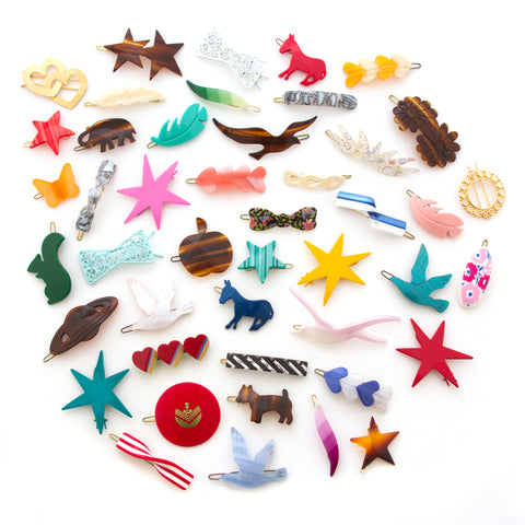 mane message vintage french barrettes inspired by hbo girls hair accessories