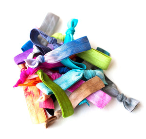 The Twenty Tie Dye Hair Tie Package