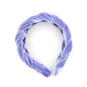 Lavender Braided Headband