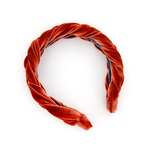 Rust Braided Headband