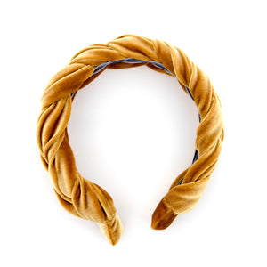 Mustard Braided Headband